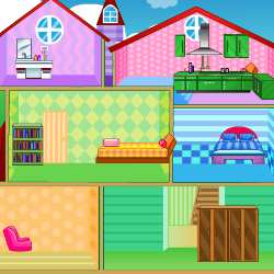 Dollhouse Home Decor Games Screenshot