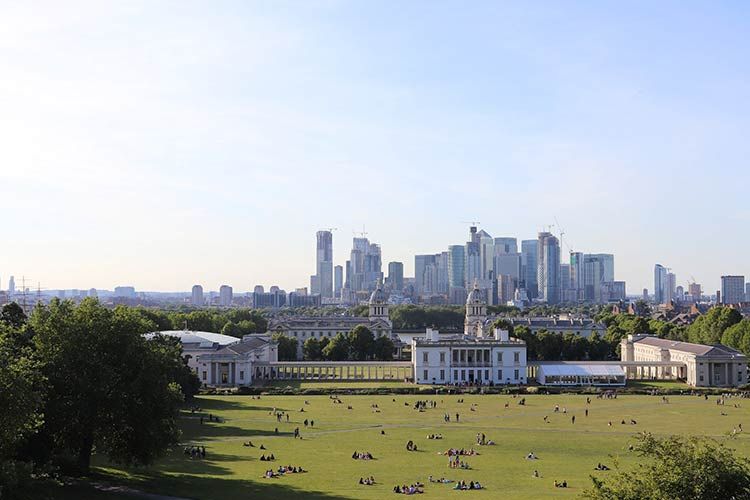 5 best parks in London - Greenwich Park iconic view