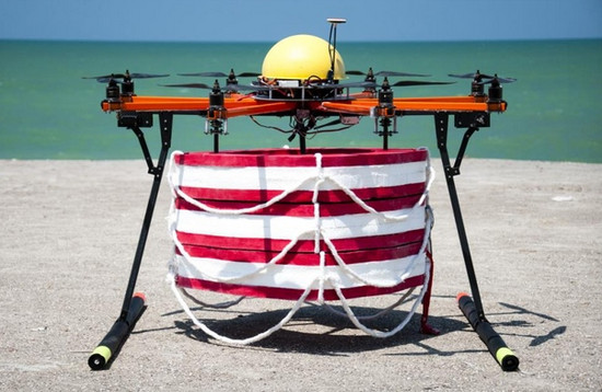 life saver flying drone