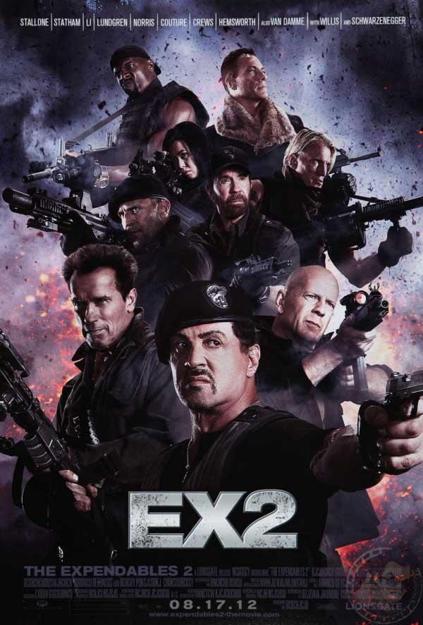 132dbe8a First Expendables 2 Poster Emerges - Big Gay Picture Show