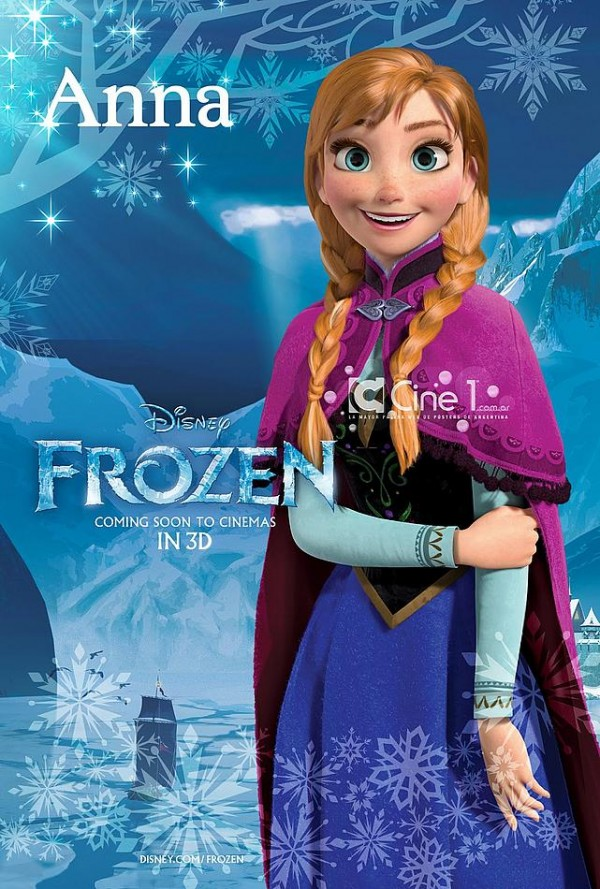 frozen character poster2