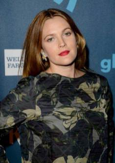 Drew Barrymore at the GLAAD Media Awards