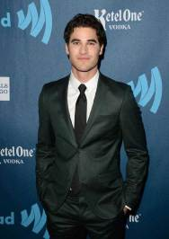 Darren Criss at the GLAAD Media Awards