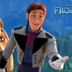 Hans (voice of Santino Fontana) - Hans is a handsome royal from a neighboring kingdom who comes to Arendelle for Elsa's coronation. With 12 older brothers, Hans grew up feeling practically invisible—and Anna can relate. Hans is smart, observant and chivalrous. Unlike Elsa, Hans promises he'll never shut Anna out; he just might be the connection she's been waiting for all these years.