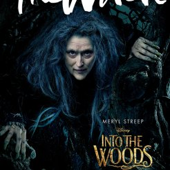 """Meryl Streep (""""The Iron Lady,"""" """"The Devil Wears Prada,"""" """"August: Osage County"""") portrays the Witch who wishes to reverse a curse so that her beauty may be restored."""