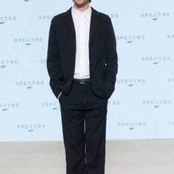Ben Whishaw at Spectre Launch
