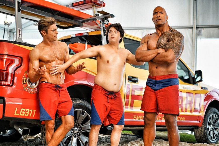 baywatch-shirtless