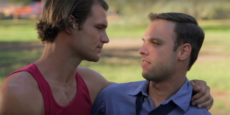 """Gay Short Film Showcase: Lunch<span class=""""pt_splitter pt_splitter-1""""> – Can a street performer impress a guy with his feats?</span>"""