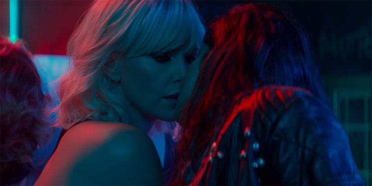 Charlize Theron: 'I Loved Making Out with Sofia Boutella for 'Atomic Blonde'