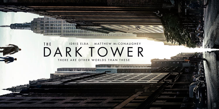 The Dark Tower poster surfaces