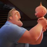 "Incredibles 2 Teaser<span class=""pt_splitter pt_splitter-1""> – Pixar's superhero family are back & baby Jack is testing his powers</span>"