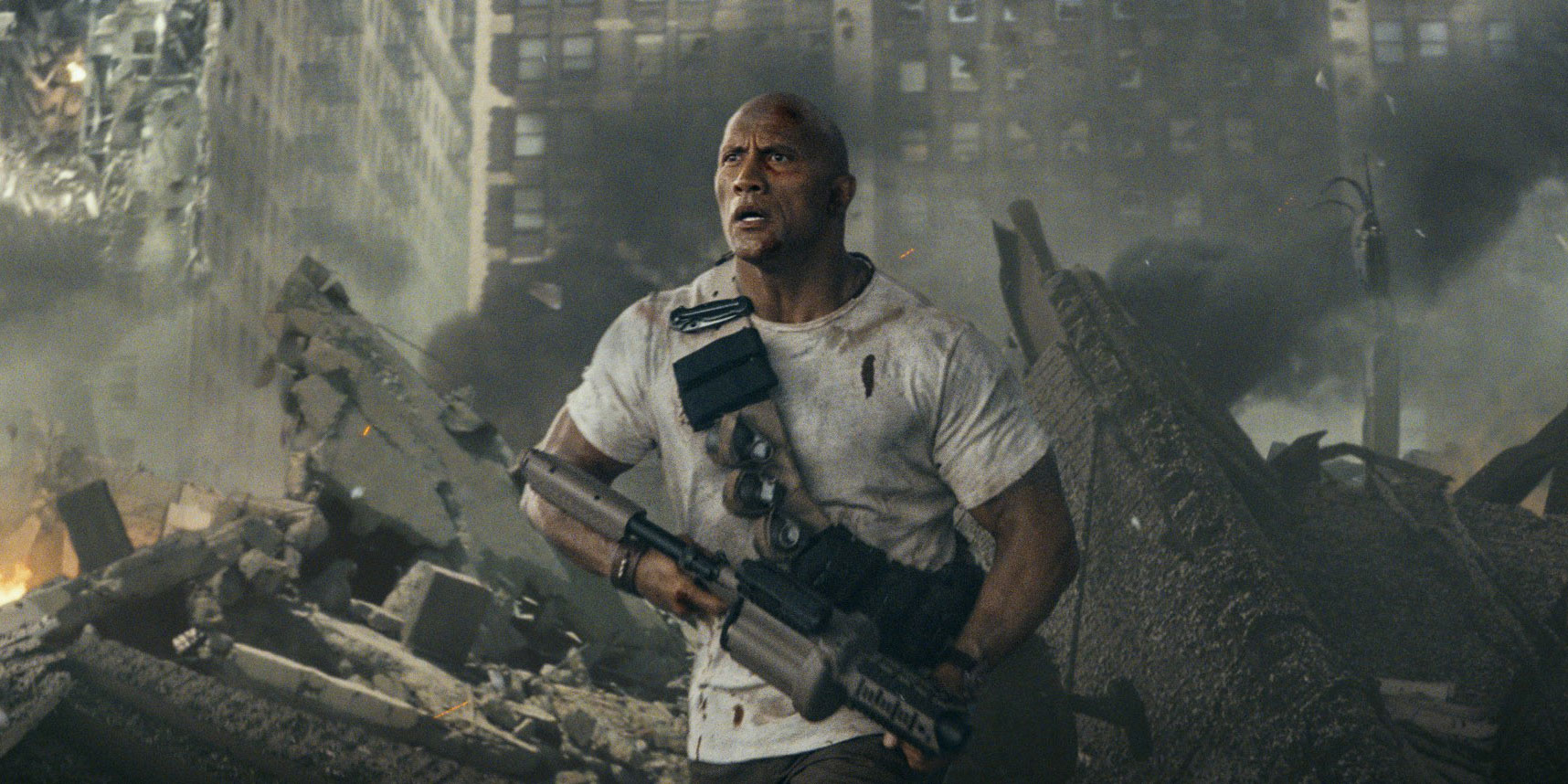 Dwayne Johnson Tweets New Rampage Poster, Trailer Info