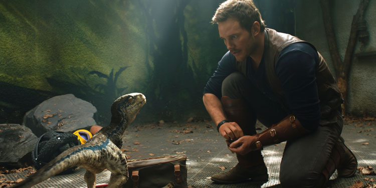 Fallen Kingdom' Trailer: Watch Chris Pratt Run For His Life
