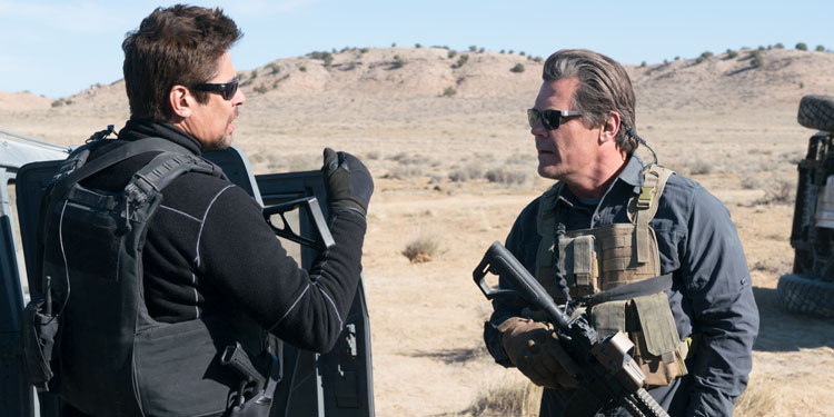 First trailer for the Sicario sequel, Soldado, unveiled