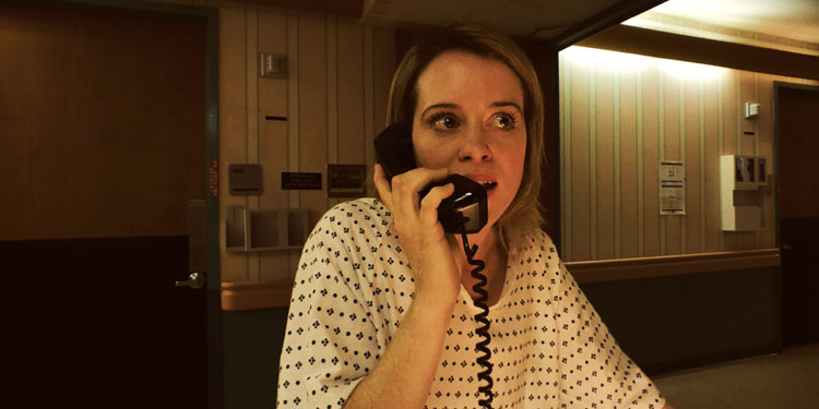 See an unnerved Claire Foy star in Steven Soderbergh's nerve-wracking 'Unsane' trailer