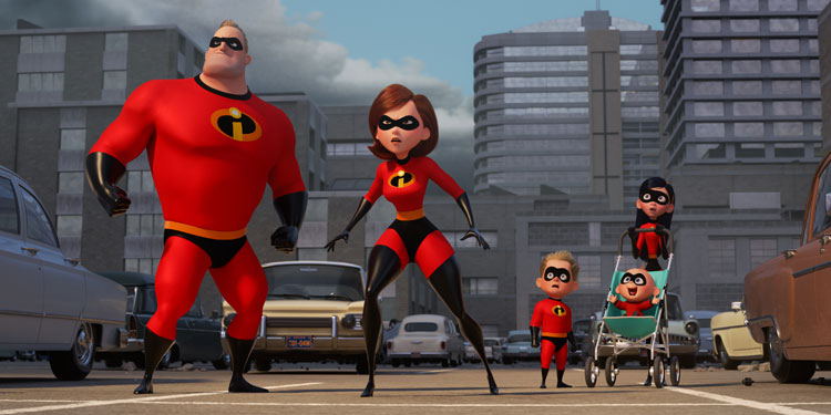 Elastigirl Heads Back to Work in First 'The Incredibles 2' Trailer