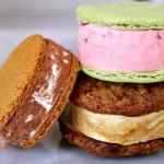 Homemade Ice Cream Cookie Sandwiches in a variety of flavors!