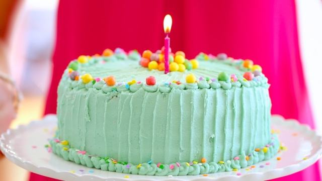 Cake, Funfetti, Celebration, Birthday, Gemma Stafford, Bigger Bolder Baking Recipes