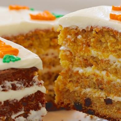 Best-Ever Carrot Cake & How to Make Cream Cheese Frosting