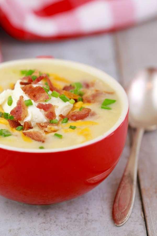 Microwave Potato Soup in a Mug (Microwave Mug Meals ...