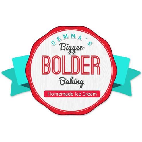 Gemma's Bigger Bolder Baking Homemade Ice Cream Labels