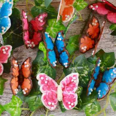 How to Make Chocolate Butterflies for Easy Cake Decorating