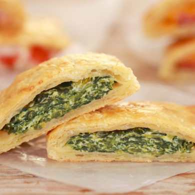 Spinach and Ricotta Savory Pop-Tarts