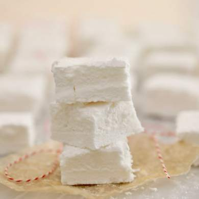 Homemade Marshmallows Recipe: Corn Syrup Free