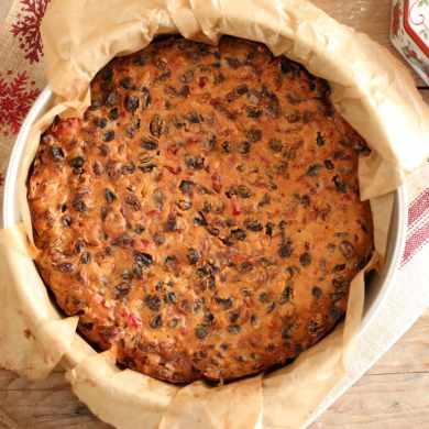 Aunty Rosaleen's Irish Christmas Cake