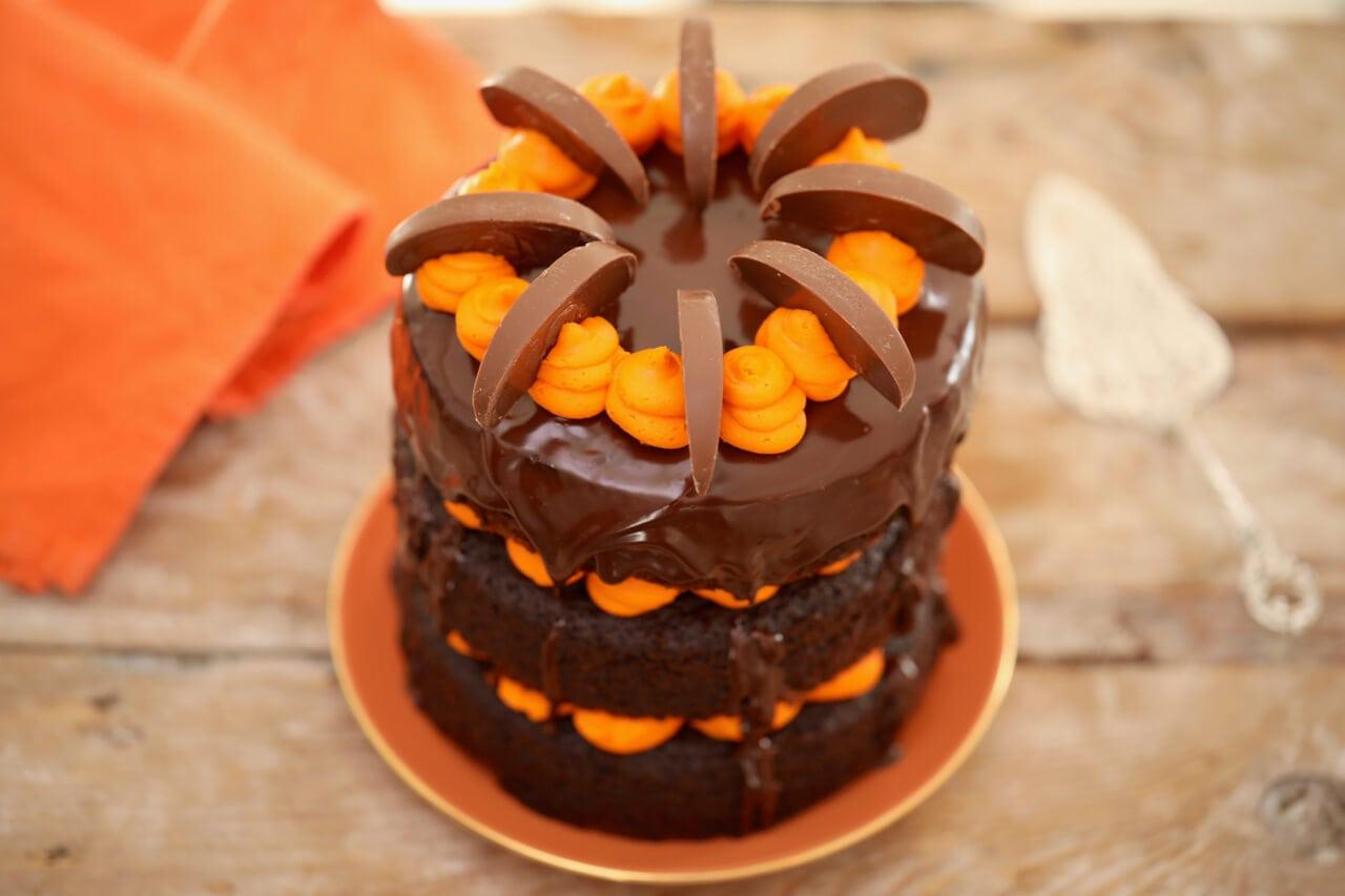 Best Ever Chocolate And Orange Cake Gemma S Bigger
