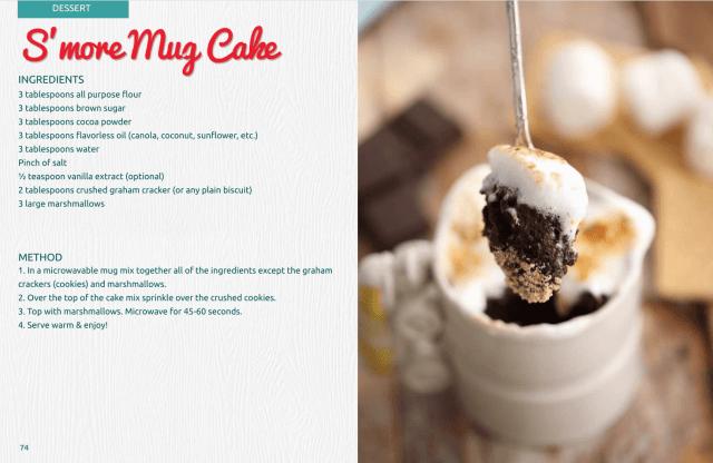 S'more Mug Cake, Smore Mug Cake, Mug Cakes, Microwave Mug Cakes, Microwave Mug Meals, Gemma Stafford, Bigger Bolder Baking, Bold Baking Basics, Gemma's Mug Meals, ebook