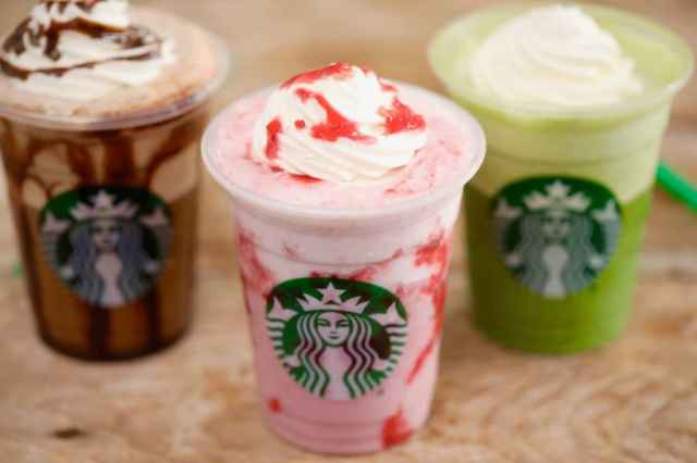 Image result for strawberry cappuccino hd photo