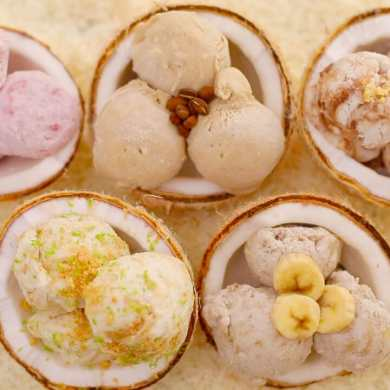 Dairy-Free Coconut Ice Cream (No Machine)