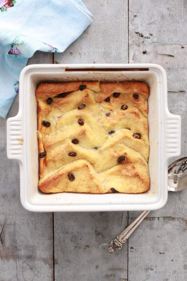 Traditional Irish Bread & Butter Pudding - the true meaning of the word comfort food