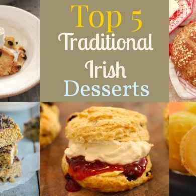 Top 5 Irish Recipes for Saint Patrick's Day!
