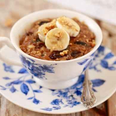 Microwave Breakfast Cookie in a Mug