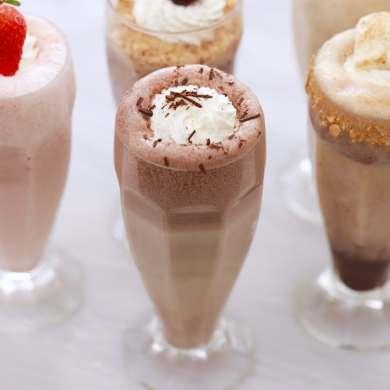Frozen Hot Chocolate Milkshake