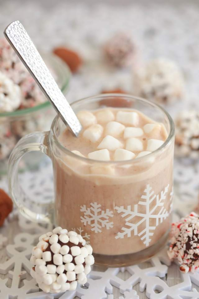 Hot Chocolate Truffles Gemmas Bigger Bolder Baking