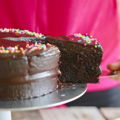 Beyond Moist Vegan Chocolate Cake