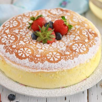 Japanese Cheesecake Simplified