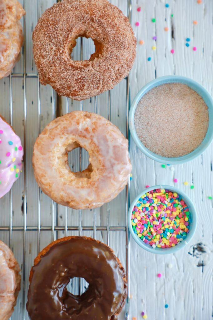 No Yeast Homemade Donut Recipe Gemma S Bigger Bolder Baking