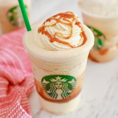 Starbucks Ultra Caramel Frappuccino