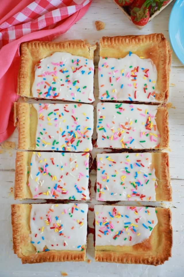 toaster oven recipe, toaster oven pop tart, pop tart, pop tarts, homemade pop tart, pop tart recipe