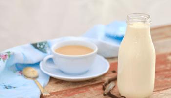 Homemade French Vanilla Coffee Creamer