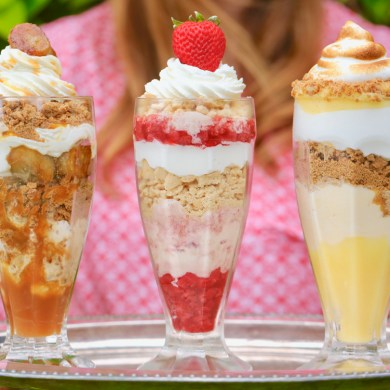 Homemade Outrageous Ice Cream Sundaes