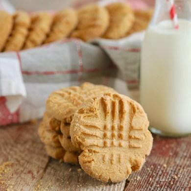 Gemma's Best-Ever Peanut Butter Cookies
