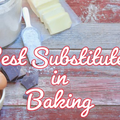 The Best Baking Substitutes