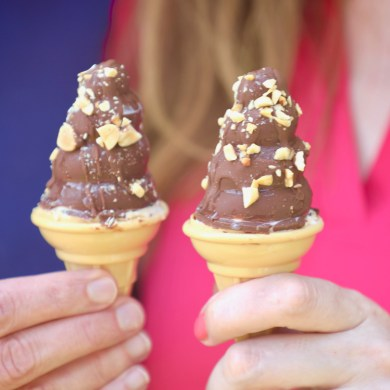 How to Make Homemade Drumstick Ice Cream Cones