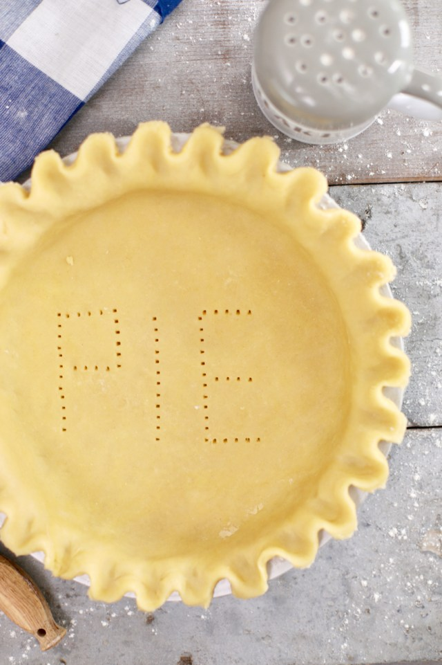 Perfect pie crusts for the holiday.