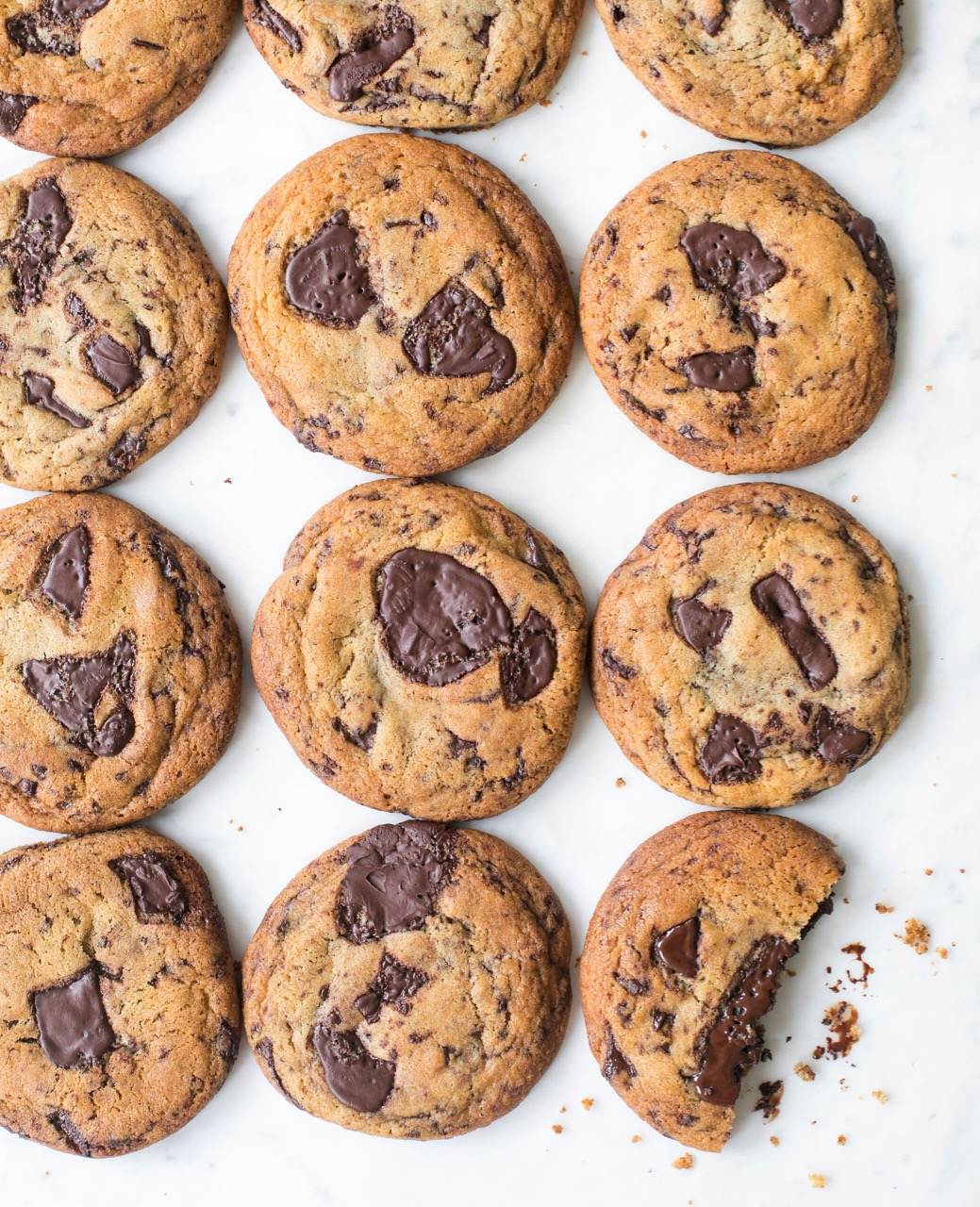 Gemma's 5 Star Chocolate Chip Cookies from the Bigger Bolder Baking Cookbook